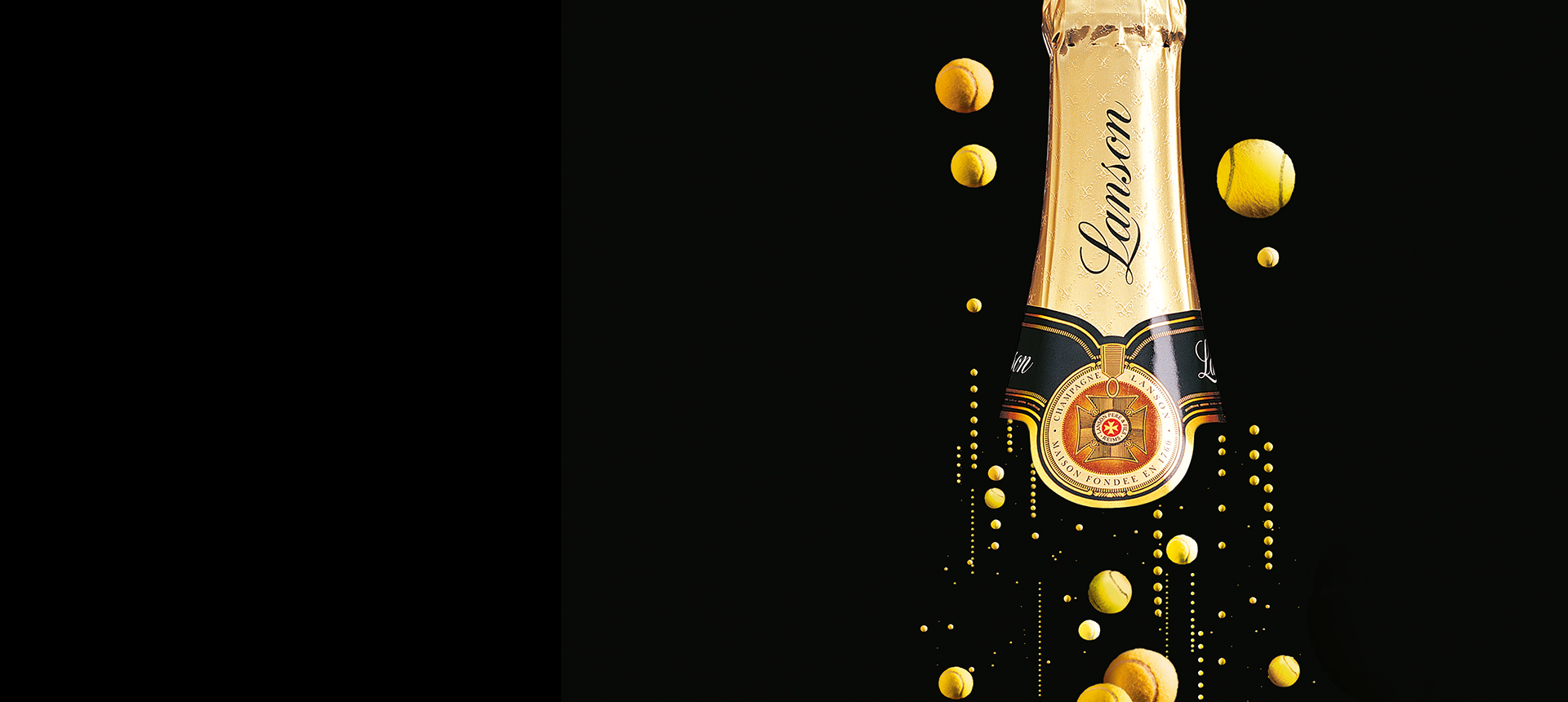 Luxury goods and lifestyle advertising campaign for Lanson by Dinosaur