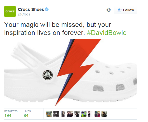 crocs social media marketing gaffe - FMCG marketing