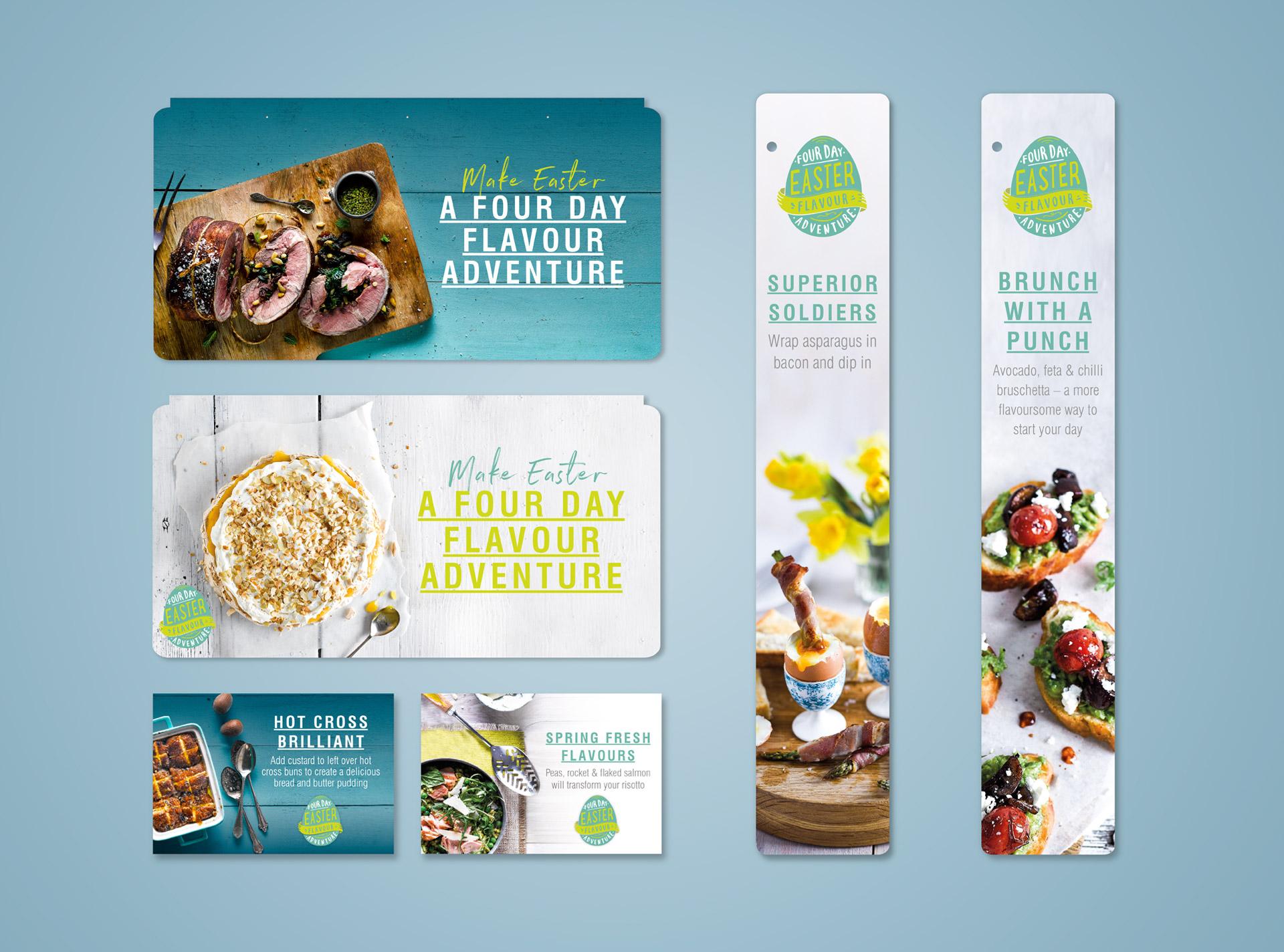 - food marketing, shopper marketing, FMCG marketing  Dinosaur-midcounties-Food and retail advertising POS-customer-journey-shelf-talkers