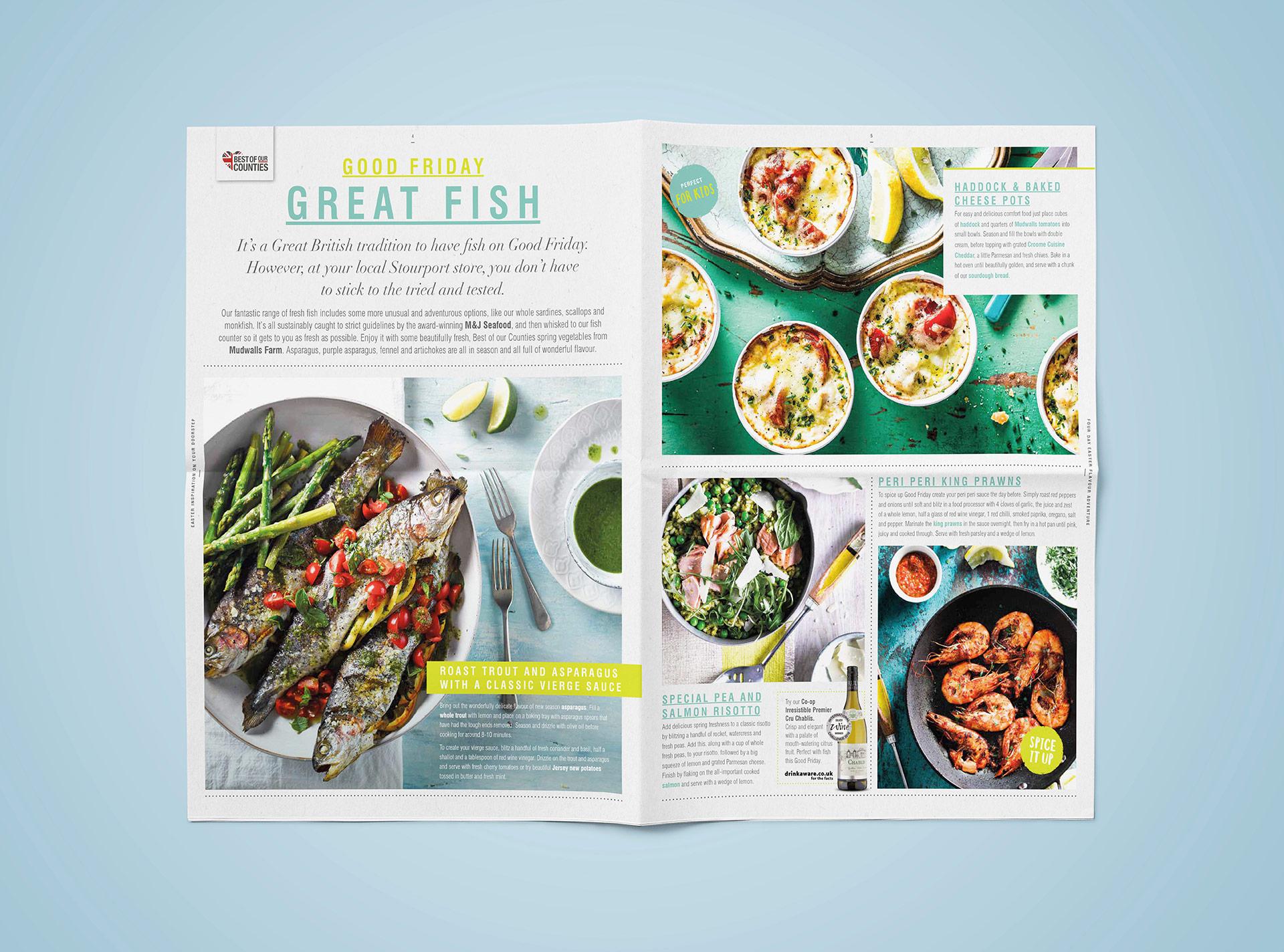 - food marketing, shopper marketing, FMCG marketing Food and retail advertising shopper marketing door-drop and customer journey