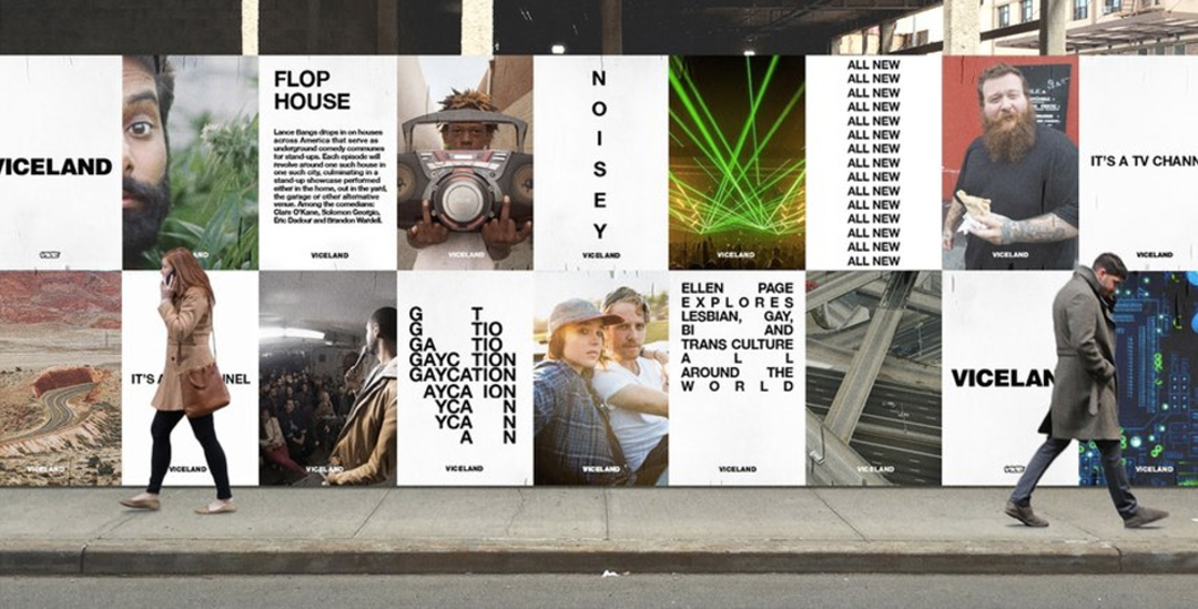 viceland brand identity outdoor advertising posters 1 - media marketing TV and outdoor