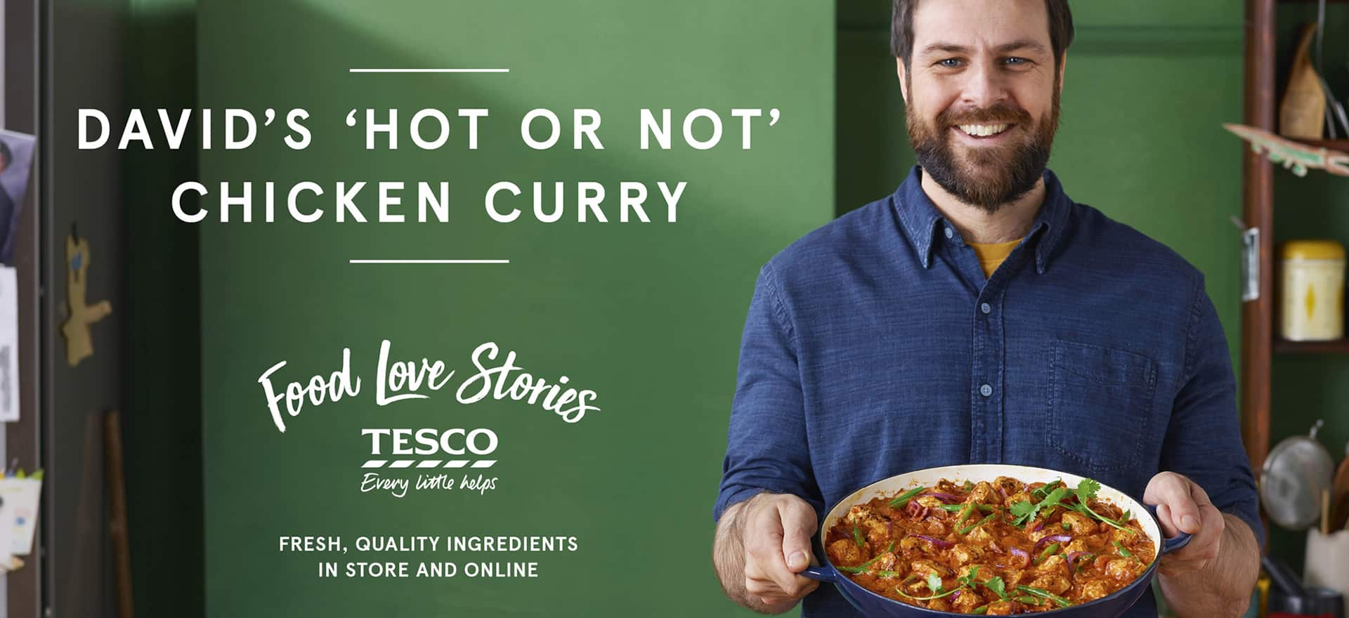 Tesco-Food-Love-Stories-marketing- FMCG advertising, retail advertising, Food and drink advertising, shopper advertising