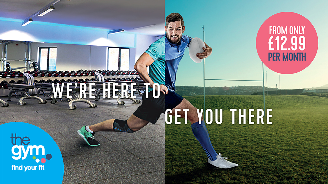Seaonal targeted digital marketing agency campaign - rugby - sports marketing, health and fitness marketing