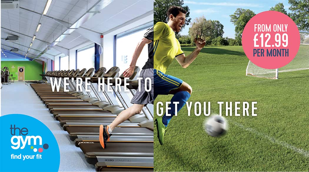 Seaonal targeted social marketing agency campaign - football - sports marketing, health and fitness marketing
