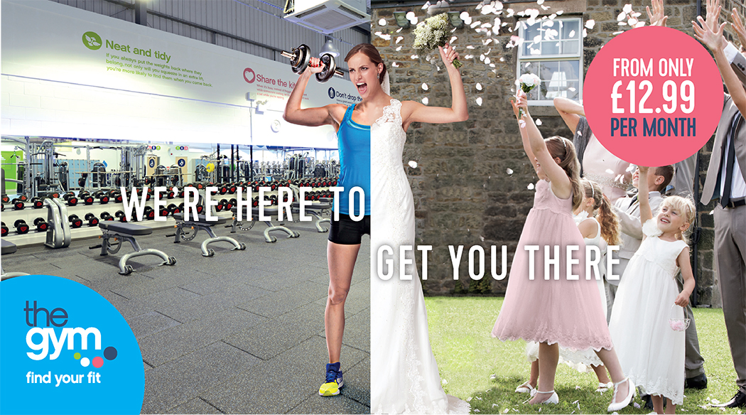 hyper-targeted digital marketing agency campaign - wedding - sports marketing, health and fitness marketing