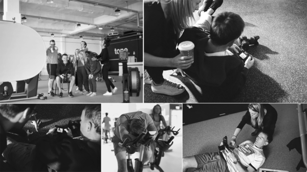 brand evolution for direct response for The Gym Group