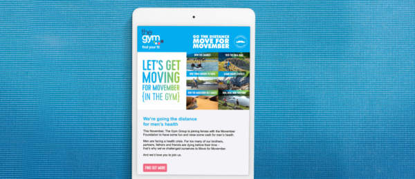 Digital marketing to increase health and fitness challenge adoption rates.