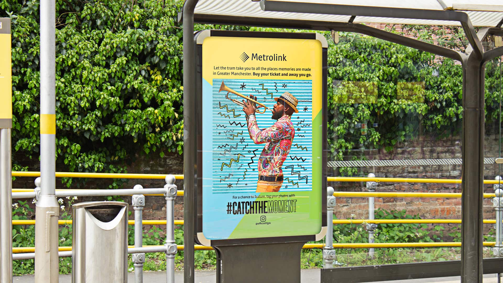 integrated multichannel campaign for TfGM across social and outdoor