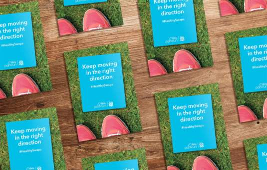 Food marketing for Co-op Food and Park run
