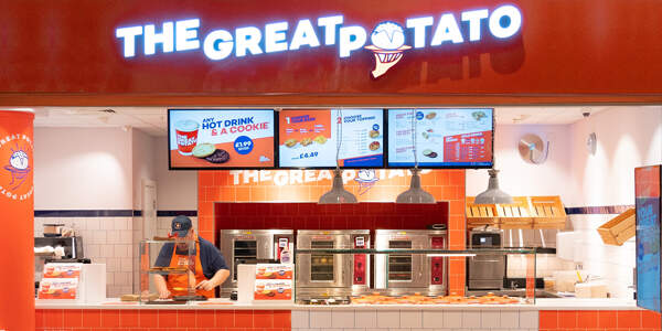 The Great Potato - rebrand and positioning
